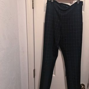 Amanda and Chelsea size 8 side zip up work pants
